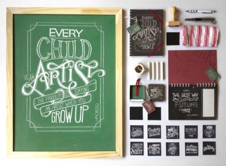 chalkboard lettering 2