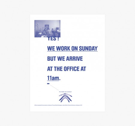 we work on sunday 3