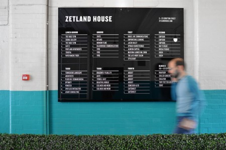 zetland house signage 5