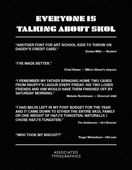 skol font 3