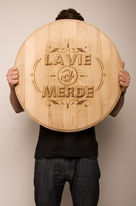 wood typography engraving 4