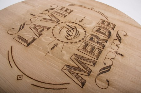 wood typography engraving 5
