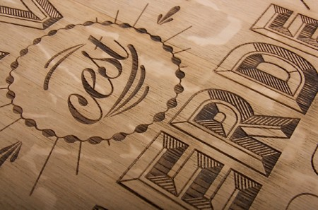 wood typography engraving 6