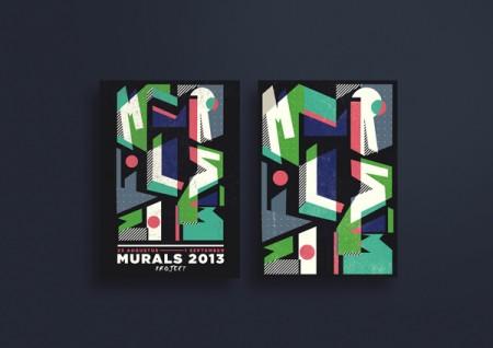 murals 2013 typography 2