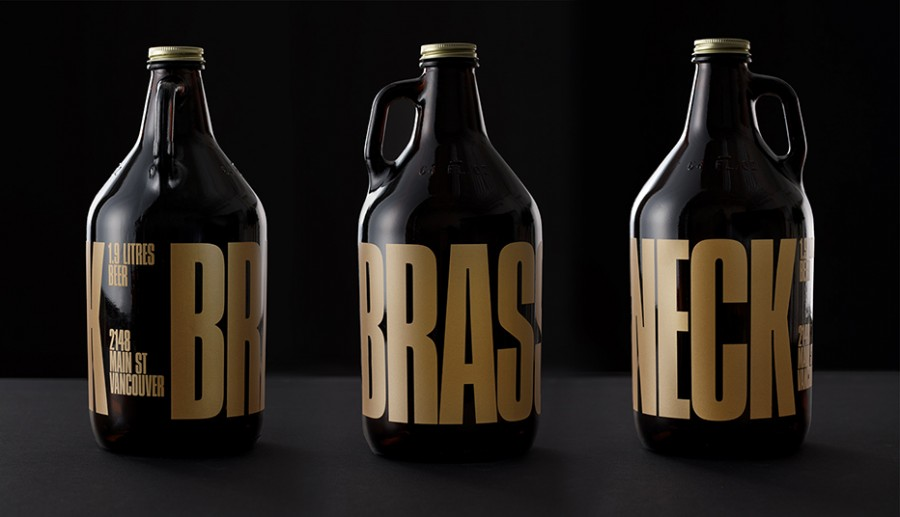 brassneck brewery branding and packaging 1