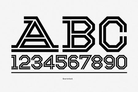 gridiron typography 5
