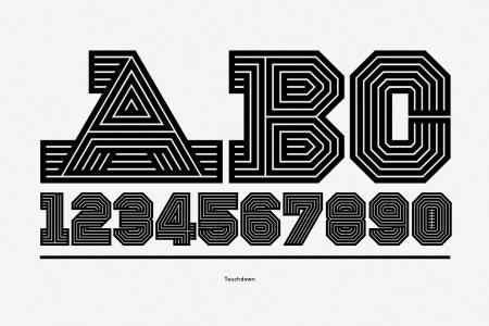 gridiron typography 6