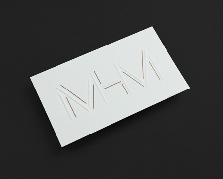 mhm architect typographic identity 1