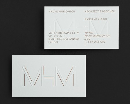 mhm architect typographic identity 2