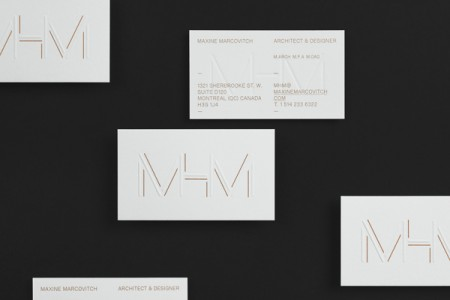mhm architect typographic identity 3