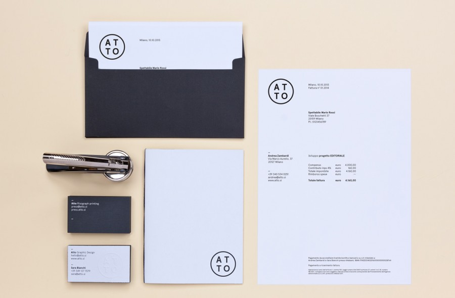 atto stationery and identity 1
