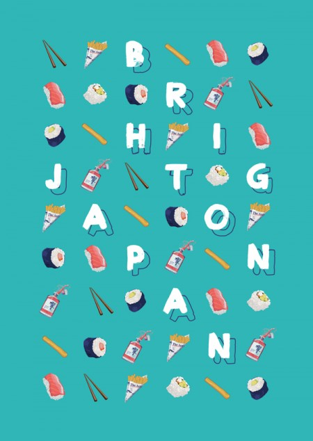 brighton japan poster design 3