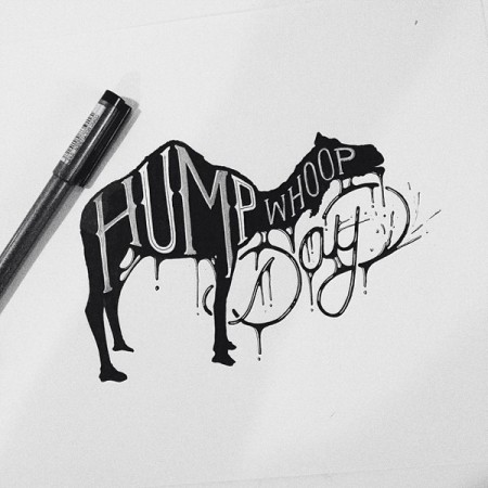 hand drawn typography 3