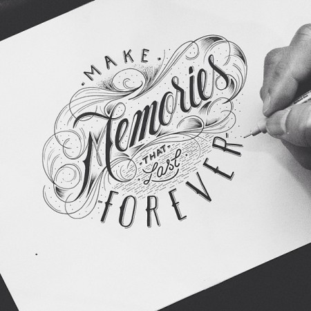 hand drawn typography 4