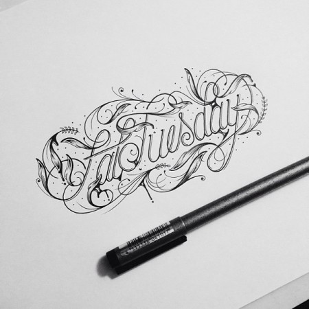 hand drawn typography 5