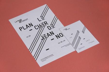 la muse en circuit typographic identity 3