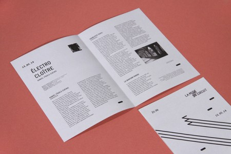 la muse en circuit typographic identity 4
