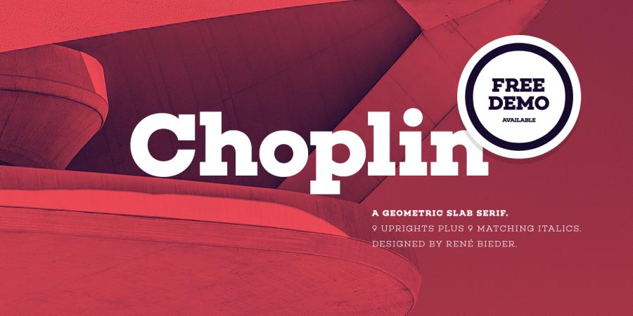 choplin font family 1