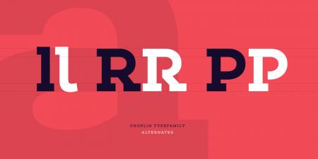 choplin font family 3
