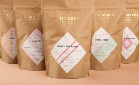 no six depot brand identity 2