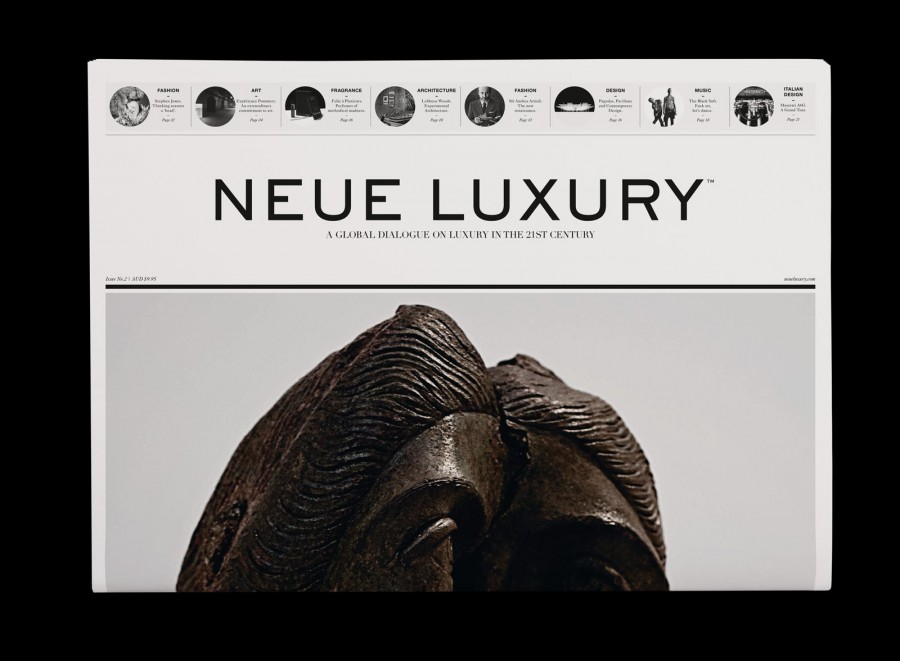 neue luxury broadsheet by 3deep 1