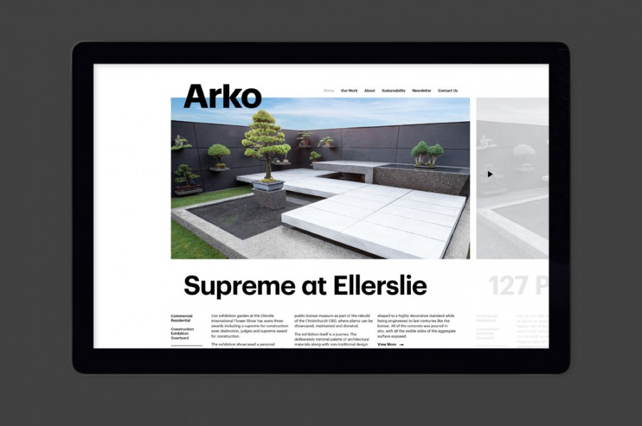 arko rebrand by strategy design and advertising 1