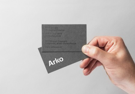 arko rebrand by strategy design and advertising 3